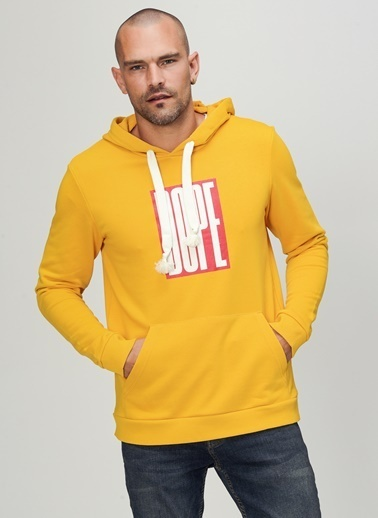 People By Fabrika Sweatshirt Hardal
